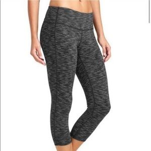new • athleta chatarunga capri yoga pants